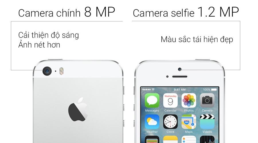 Iphone 5s 32g - quốc tế - gold loại c - 97 - 5