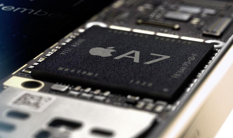 Chipset Apple A7 mạnh mẽ