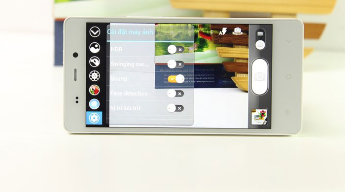 Gionee Elife E6 camera