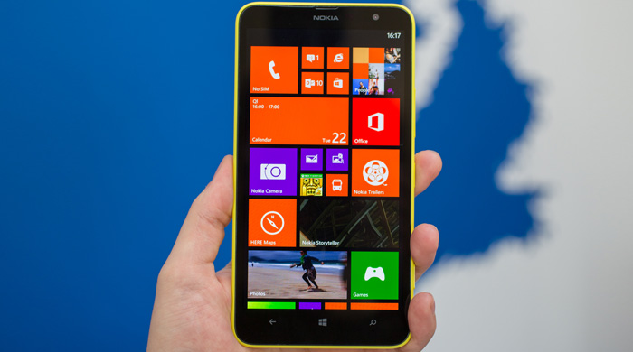 Nokia Lumia 1320 Screen