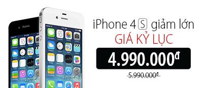 Điện thoại di động iPhone 4S 8GB