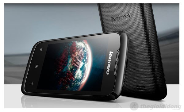 Màn hình IPS 3.5inch của Lenovo A269i cho hình ảnh sắc nét