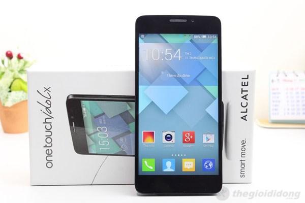 Màn hình 5 inch full HD sắc nét của One Touch Idol X