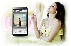 Công nghệ âm thanh của LG G2