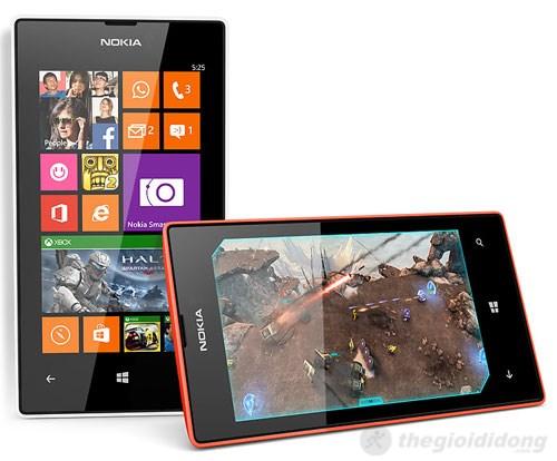 Lumia 525 cho hiệu suất xử lý tốt hơn với 1Gb RAM