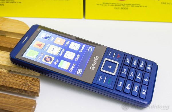 Q-Mobile C500 mỏng 9.9 mm
