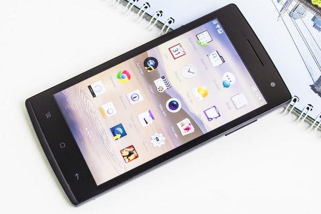 Thiết kế khá hiện đại nếu so với các smartphone Android tầm trung khác