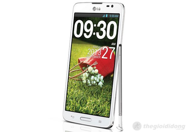 LG G Pro Lite với bút Stylus trên màn hình 5.5inch