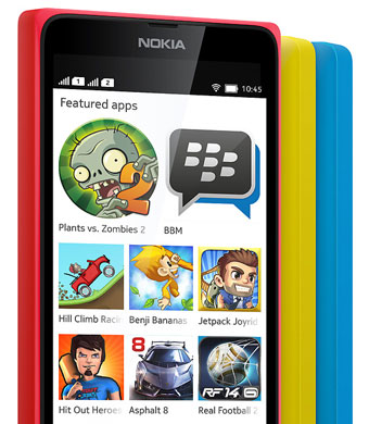 Nokia X - Android Apps