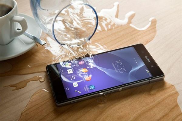 Sony Xperia Z2 chống nước và bụi IP55/58