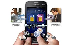 Samsung Galaxy Trend Lite S7392 hỗ trợ 2 sim 2 sóng