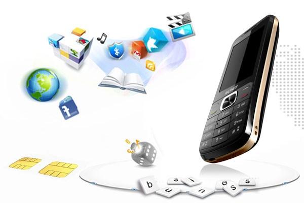 Gionee L800 online với GPRS