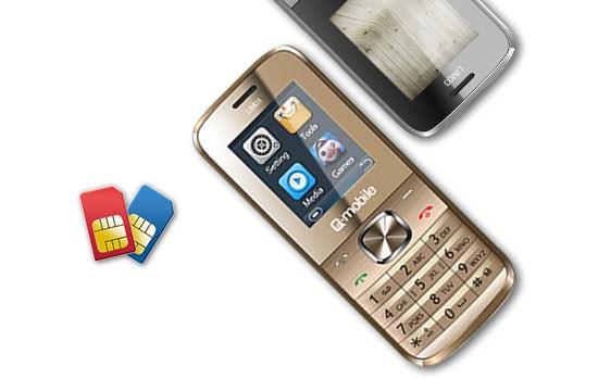 Q-Mobile LIM 03 hai sim hai sóng