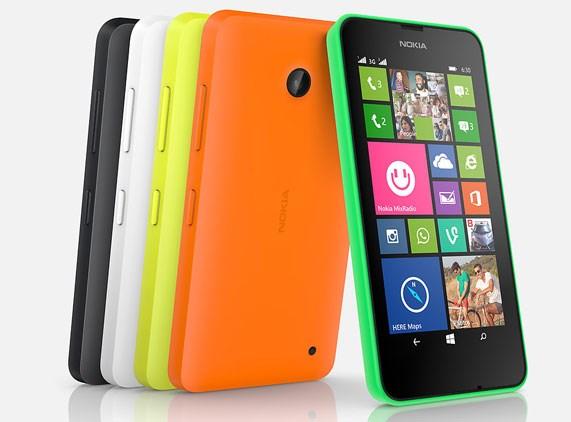 Nokia Lumia 630 đầy màu sắc nổi bật