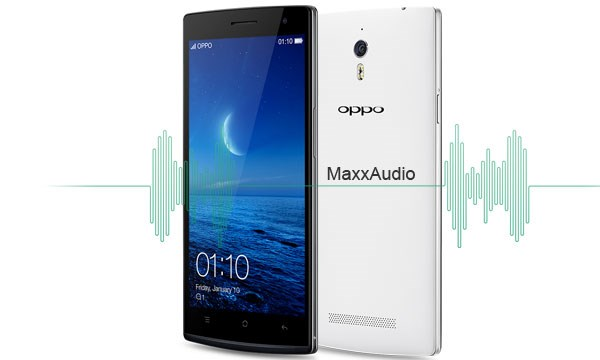 Oppo Find 7 MaxxAudio