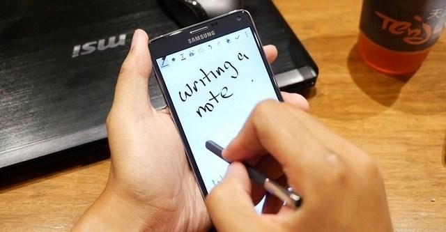 Bút S-Pen của điện thoại Samsung Galaxy Note 4