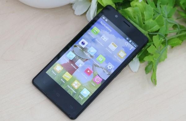 Gionee Pioneer P4 smartphone giá rẻ