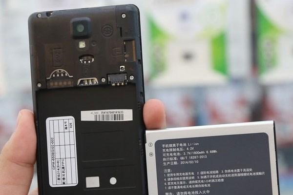 Gionee Pioneer P4 smartphone 2 sim 2 sóng
