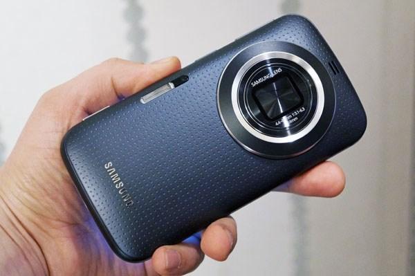 Samsung Galaxy K Zoom smartphone lai máy ảnh