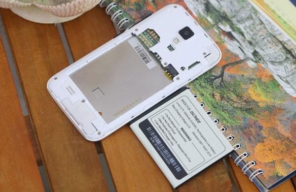 Gionee Pioneer P2S smartphone 2 sim