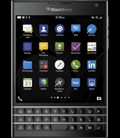 Điện thoại BlackBerry Passport