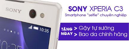 Điện thoại di động Sony Xperia C3