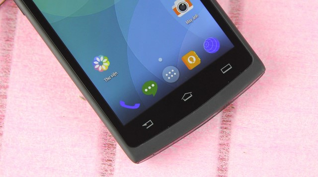 """Máy hỗ trợ 3 nút cảm ứng rất nhạy đặc trưng của hệ điều hành Android: """"Quay về, Home, Tùy chọn"""""""