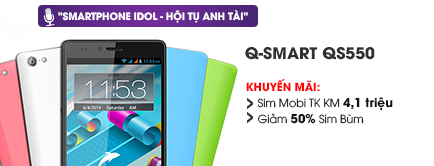 Điện thoại di động Q-Smart QS550