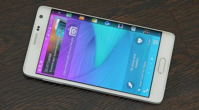 Cụm camera trước trên điện thoại Samsung Galaxy Note Edge