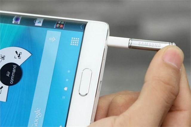 Bút SPen trên điện thoại Samsung Galaxy Note Edge