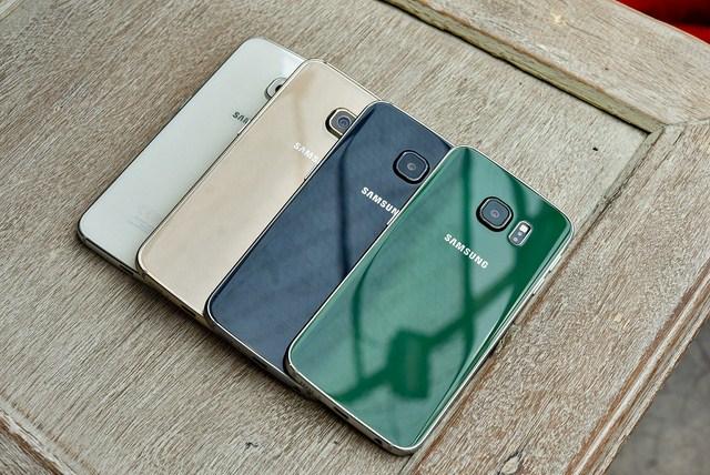 Các màu sắc rất nổi bật và tinh tế của Galaxy S6
