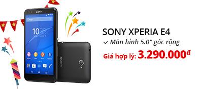 Điện thoại di động Sony Xperia E4 Dual