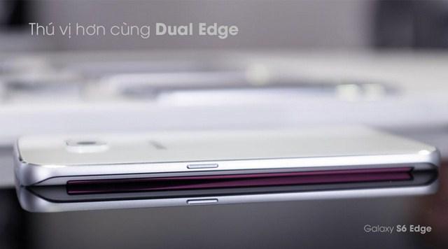 Thiết kế điện thoại Samsung Galaxy S6 Edge