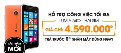 Điện thoại di động Microsoft Lumia 640 XL