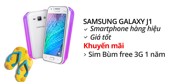 Điện thoại di động Samsung Galaxy J1