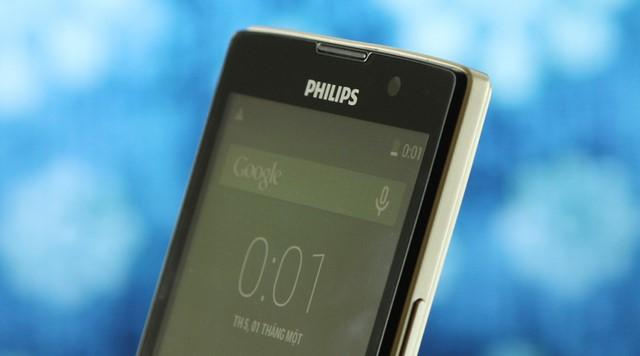 Các góc của Philips W3500 được thiết kế vuông vắn như dáng dấp của một quý ông lịch lãm, khỏe khoắn