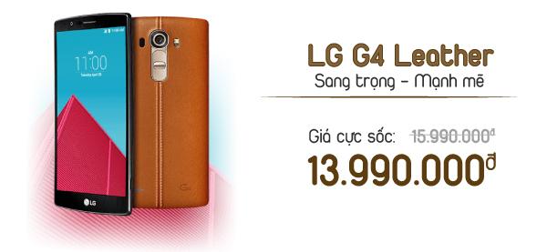 Điện thoại di động LG G4 Leather