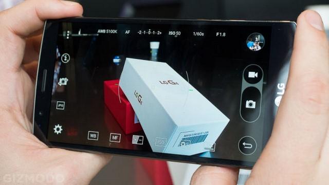 Giao diện chụp ảnh với camera chính 16MP được áp dụng với nhiều công nghệ mới