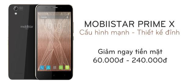 Điện thoại di động Mobiistar Prime X