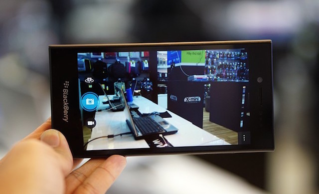 BlackBerry Leap sở hữu camera sau 8MP