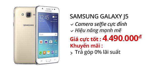 Điện thoại di động Samsung Galaxy J5