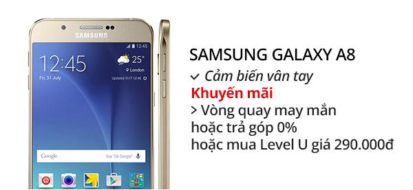 Điện thoại di động Samsung Galaxy A8