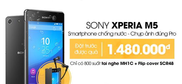 Điện thoại di động Sony Xperia M5 Dual