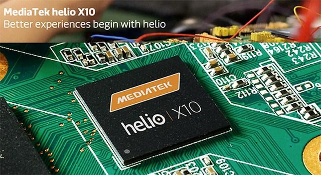 Vi xử lý mới Helio X10 sẽ giúp máy chạy một cách mượt mà, công nghệ 64 bit đem đến tốc độ xử lý đa nhiệm tốt