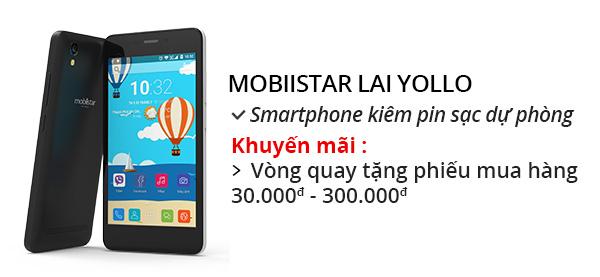 Điện thoại di động Mobiistar Lai Yollo