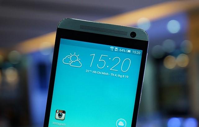 Cụm loa BoomSound và camera trước 4MP công nghệ UltraPixel của HTC