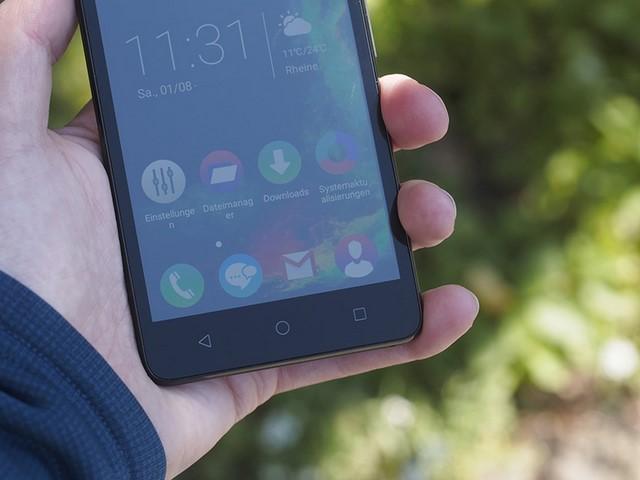 Các phím đặc trưng của Android Lolipop được làm đơn giản nhưng đẹp