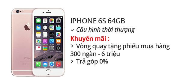 Điện thoại di động iPhone 6s 64GB