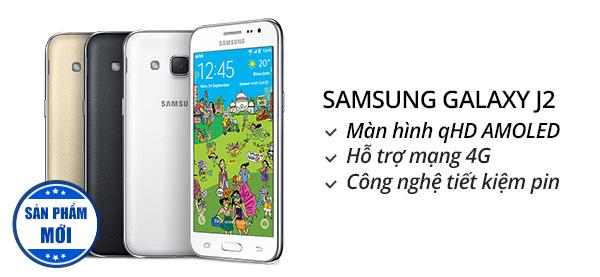 Điện thoại di động Samsung Galaxy J2