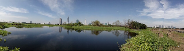 Ảnh chụp toàn cảnh - panorama (Ảnh: Lê Minh Ty)